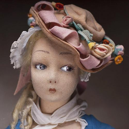 Lenci Sheperdess salon doll