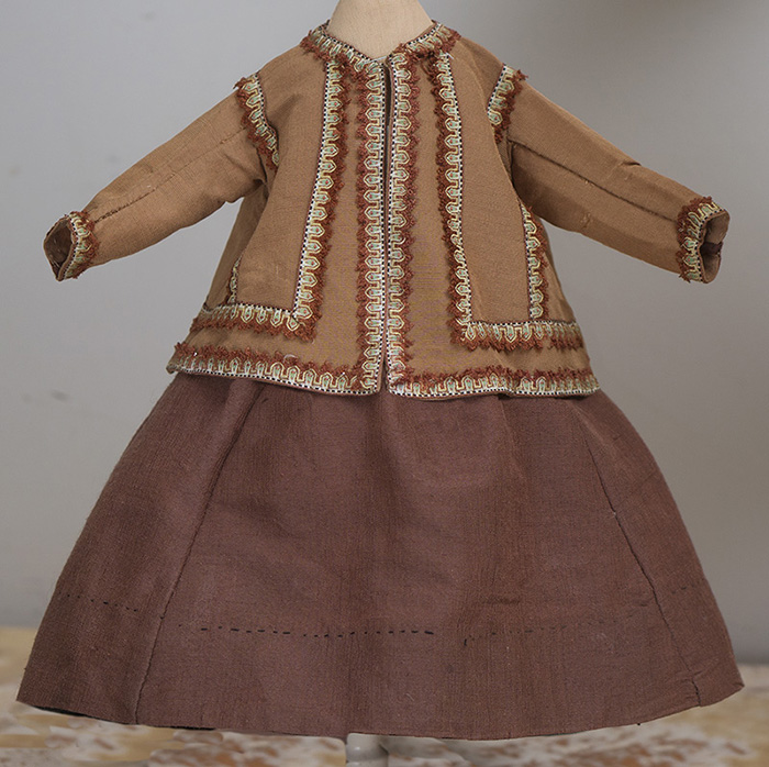 Antique Original Fashion doll costume