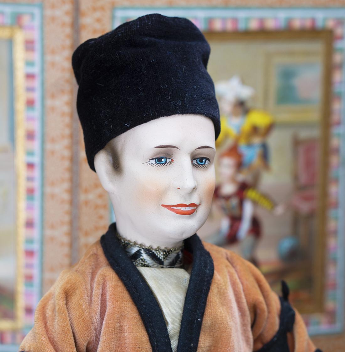 Русская кукла НИЖИНСКИЙ