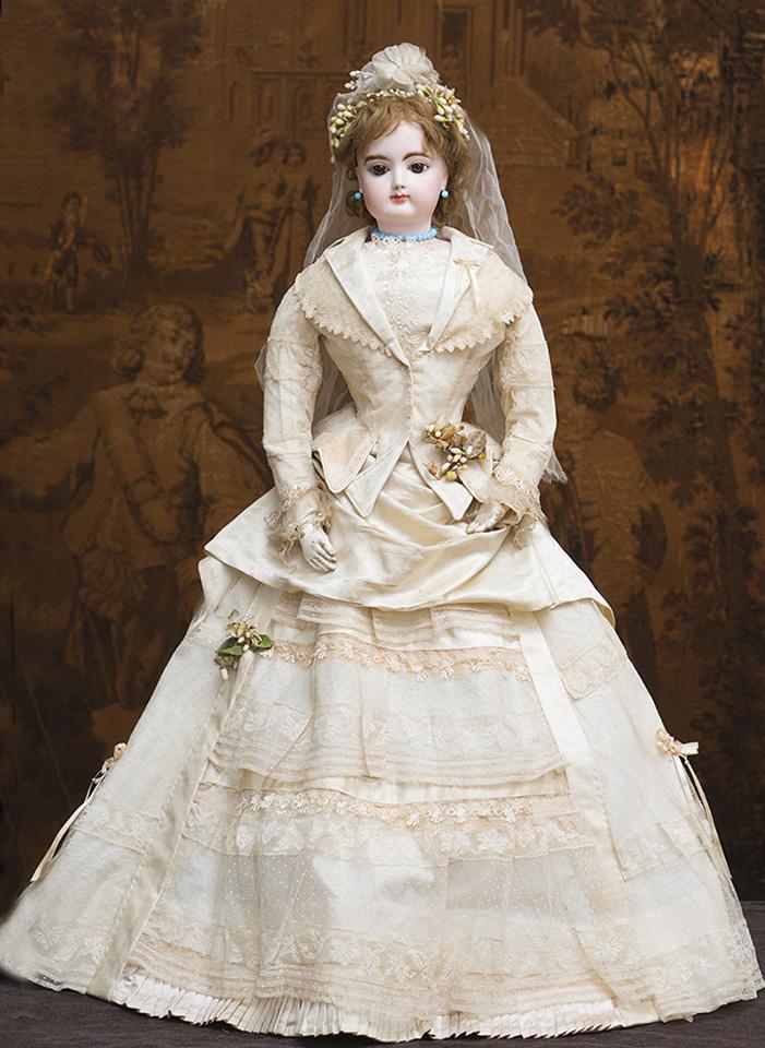 74 см Роскошная Выставочная большая модная кукла Готье в свадебном наряде