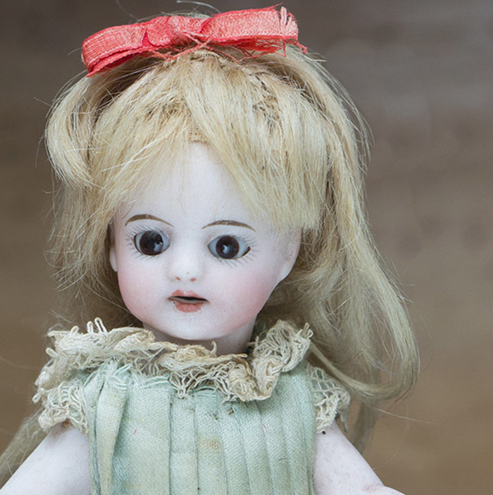 SOLD!! - Antique Mignonette doll