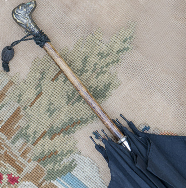Antique French Bebe Parasol