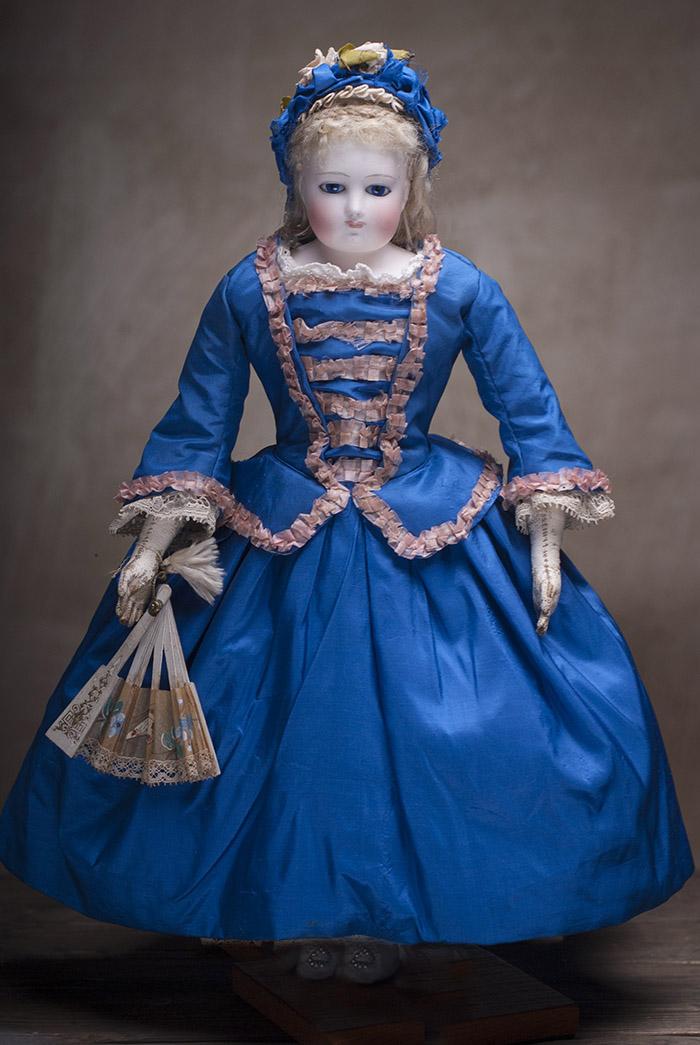 Модная французская кукла Barrois  39 см