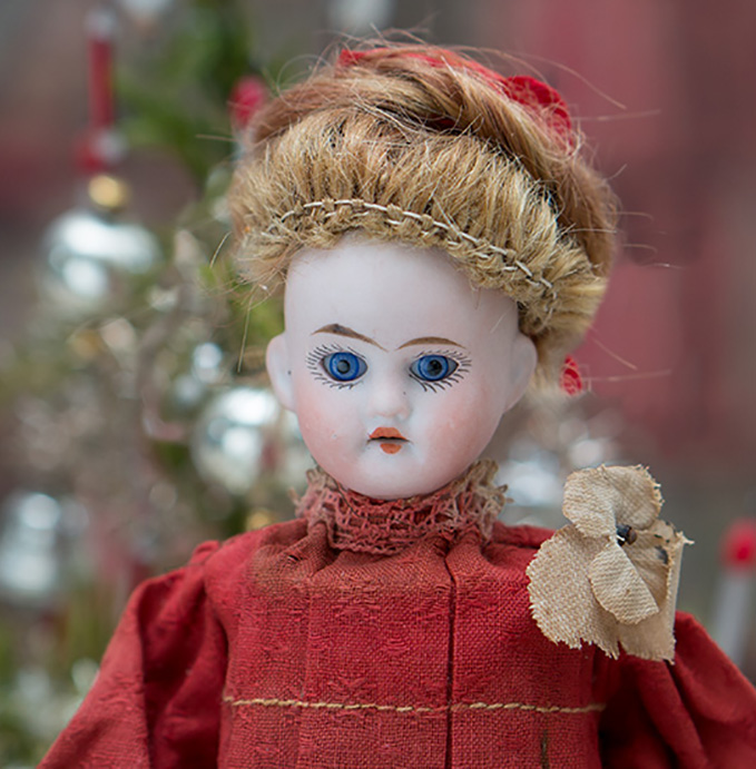 Antique german Doll as Candy Container