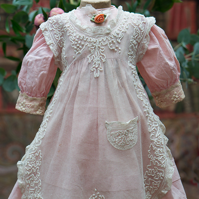 Original Dress & Apron for 26in doll