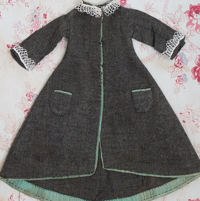 Antique Original woolen dress