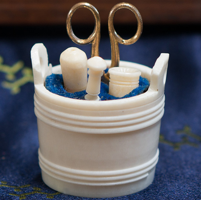 Rare Miniature Sewing Set