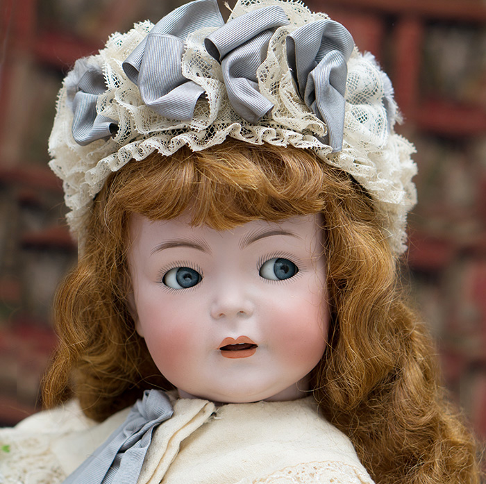 German Character  Flirty eyes doll