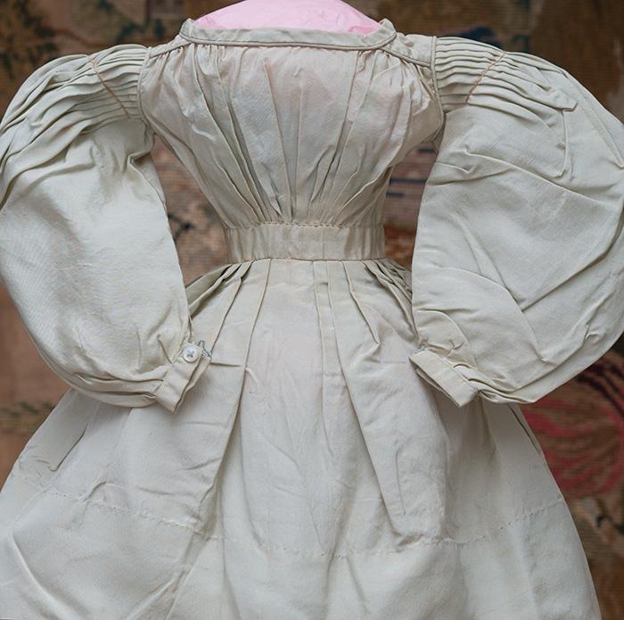 Rare silk fashion dress c.1830