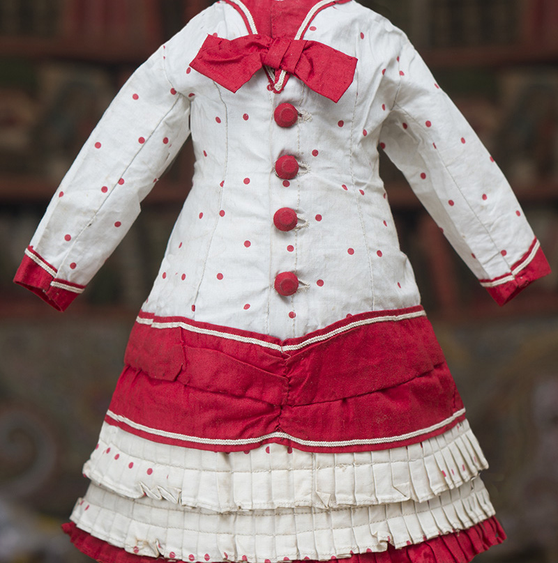 Antique Original Dress for doll 20-21