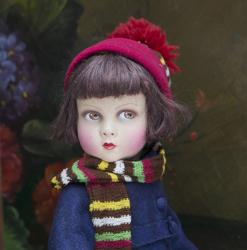 Antique French Character Doll by Raynal