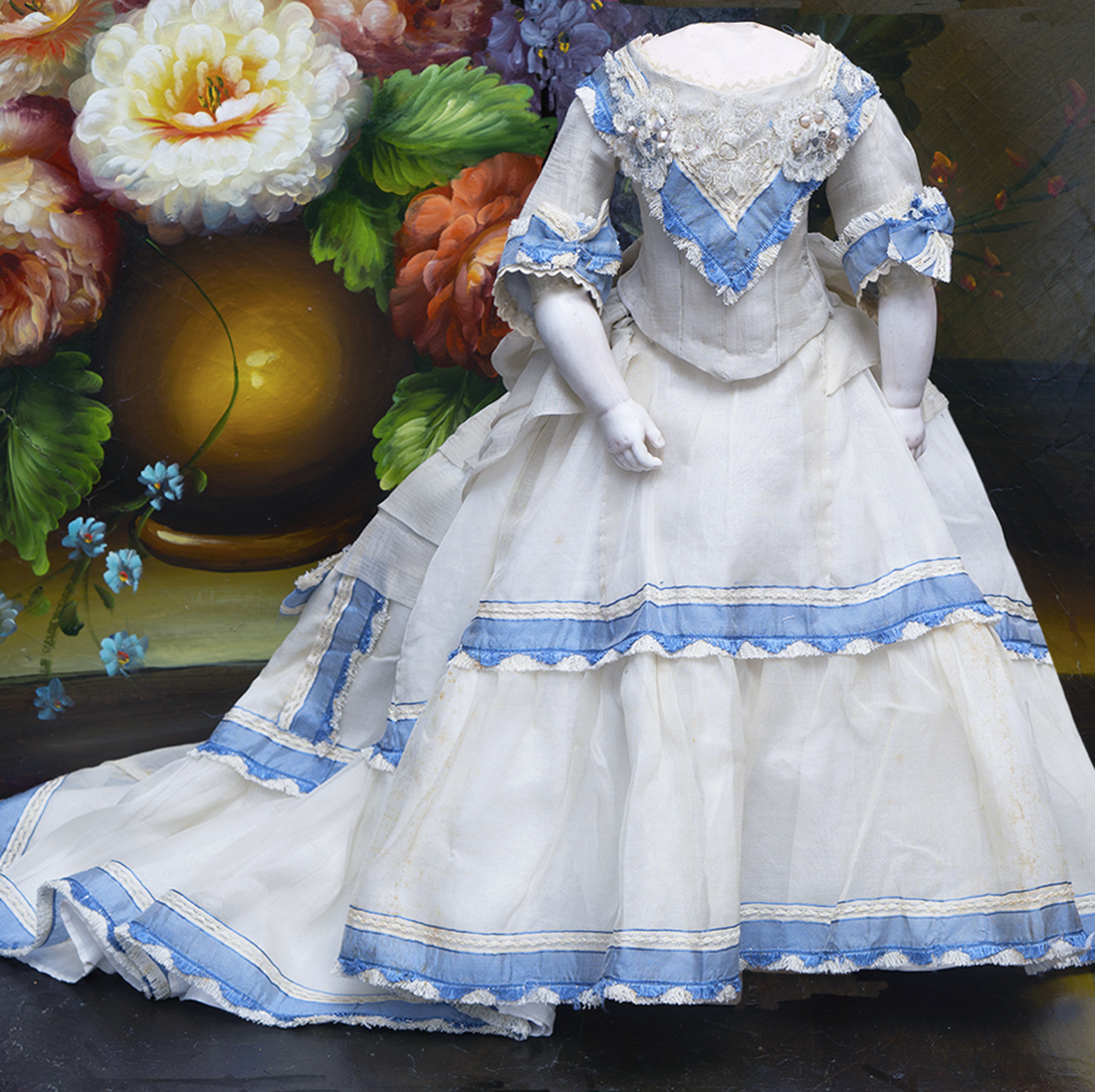 Antique French Ball Gown