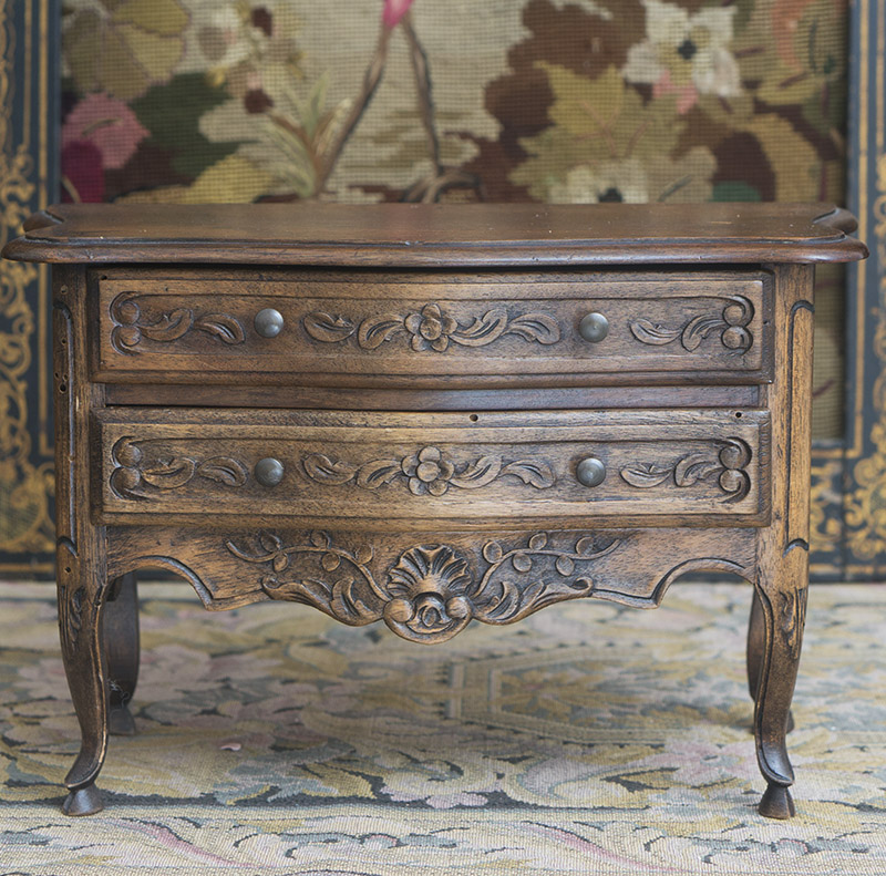 Antique commode for fashion doll