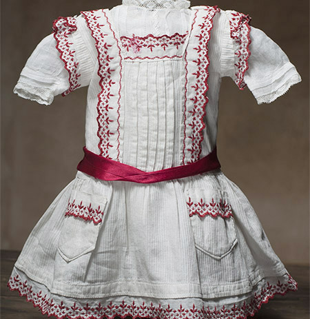 Original Dress with Swiss blouse