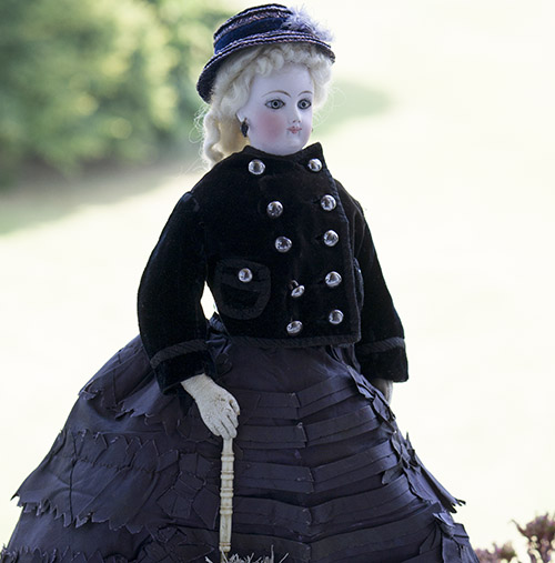 French Fasion Jumeau doll, c.1875