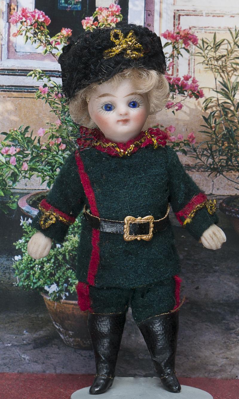 11см  куколка-mignonette в оригинальном костюме казака