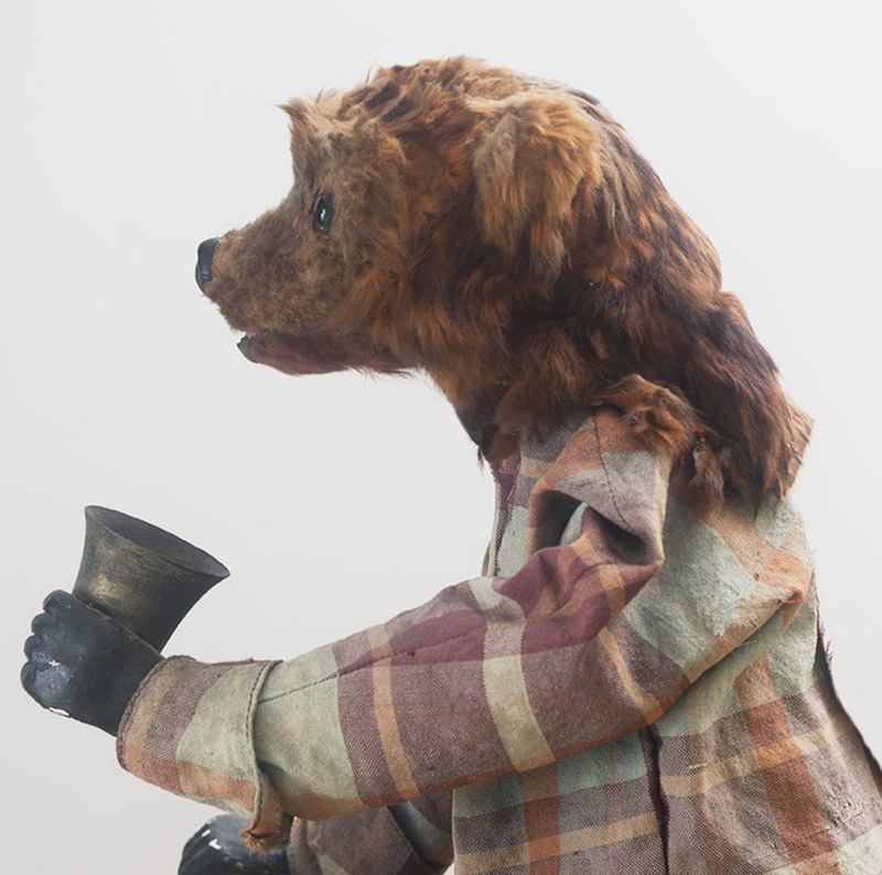 Antique  Bear Automaton by Decamps