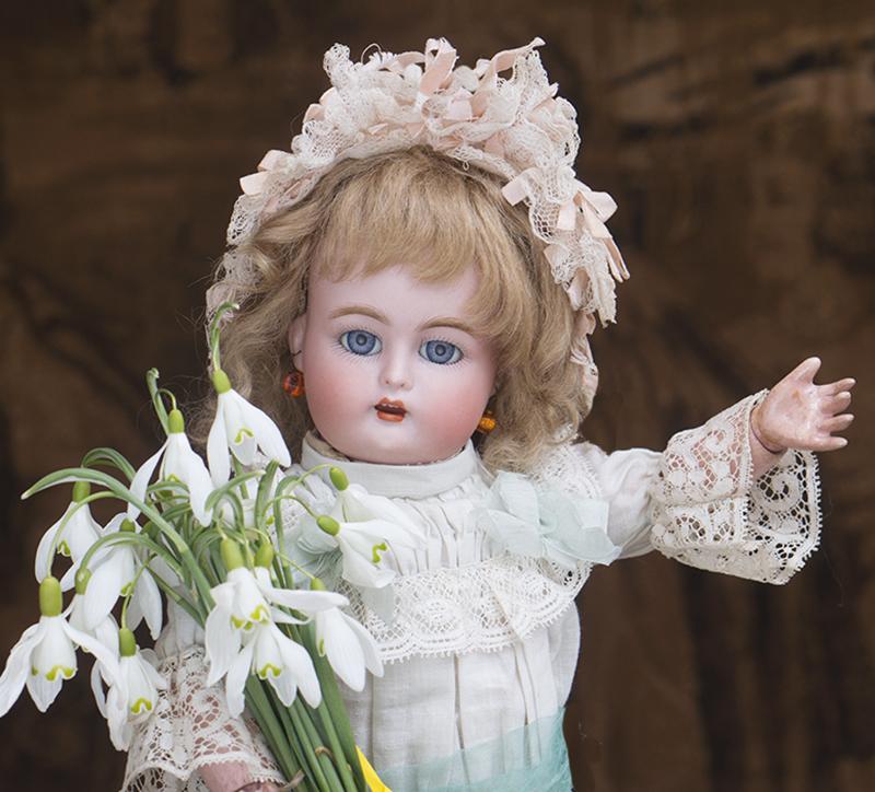 Кукла 33 см K*R, S&H