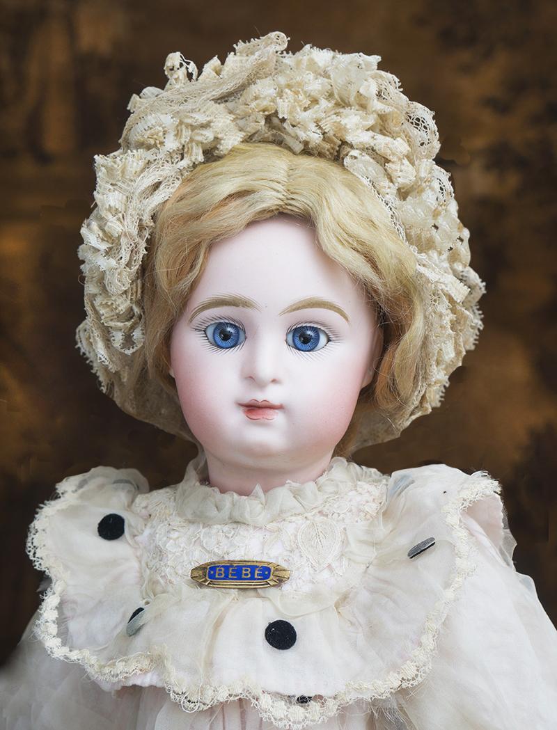 Редкая кукла PARIS BEBE 46 см