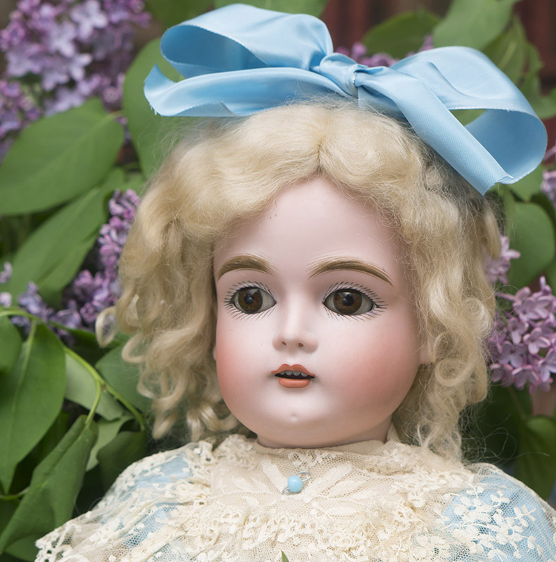 Bisque Child Doll, 167, by Kestner